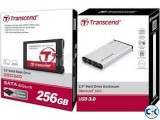 Transcend SSD Harddrive Enclosure USB 3.0 ---01977784777