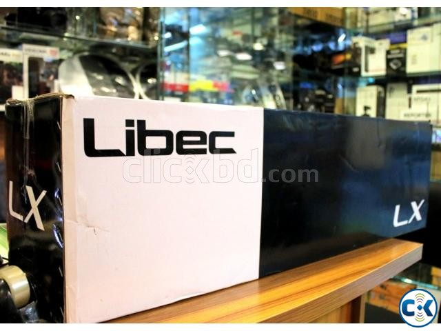 Libec LX7 Tripod With Pan and Tilt Fluid Head and Floor Spr. | ClickBD large image 0