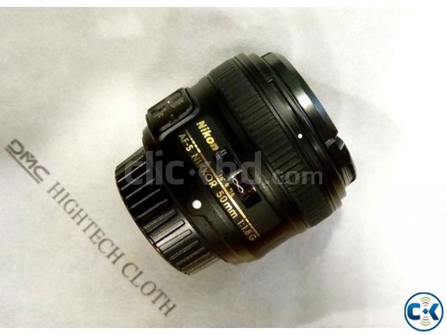 Nikon AF-S 50mm f 1.8G Prime Lens | ClickBD large image 0