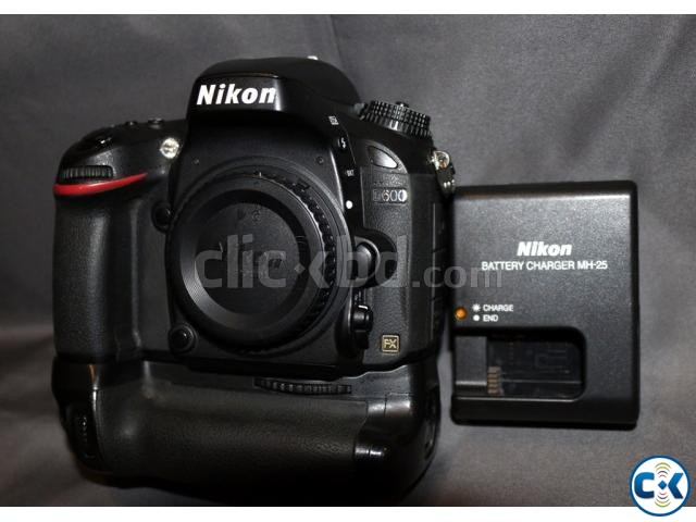 Nikon D600 DSLR camera with Nikon MB-D14 orig. battery grip | ClickBD large image 0