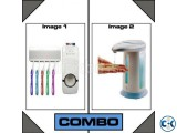 Magic Soap Toothpaste Dispenser Combo Offer