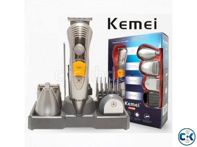 Kemei Rechargeable 7 in1 Shaver Trimmer | ClickBD large image 0