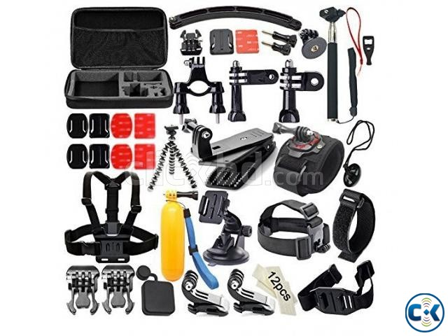 Xiaomi Yi Gopro action camera accessories set 56 in 1 | ClickBD large image 0