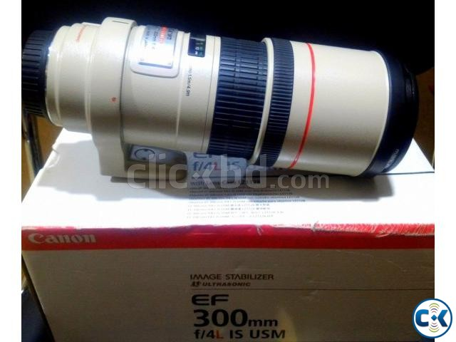 Canon EF 300mm f 4L IS Telephoto Prime Lens | ClickBD large image 0