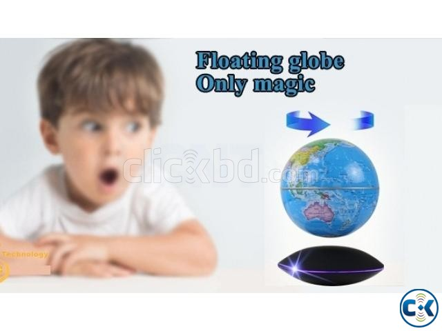 Strong rare magnetic floating globe Creative Birthday Gift | ClickBD large image 0