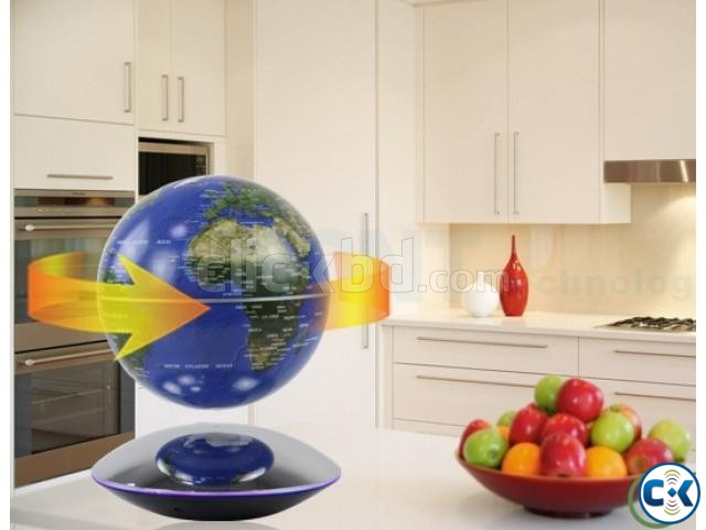 Strong rare magnetic floating globe Creative Birthday Gift | ClickBD large image 1