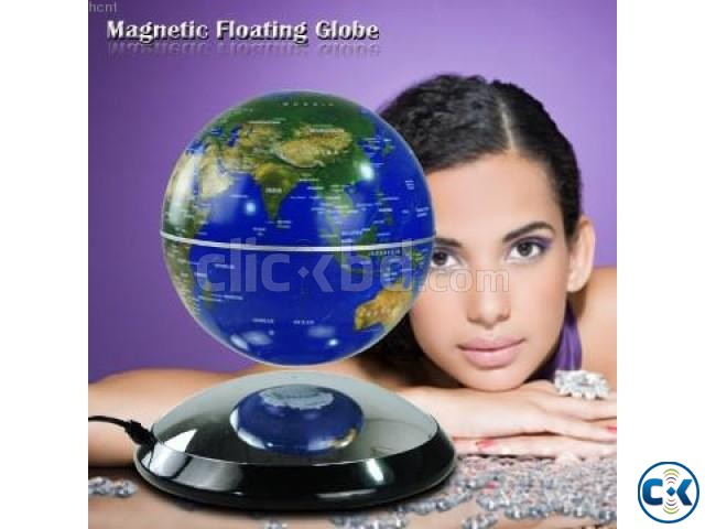 Strong rare magnetic floating globe Creative Birthday Gift | ClickBD large image 3