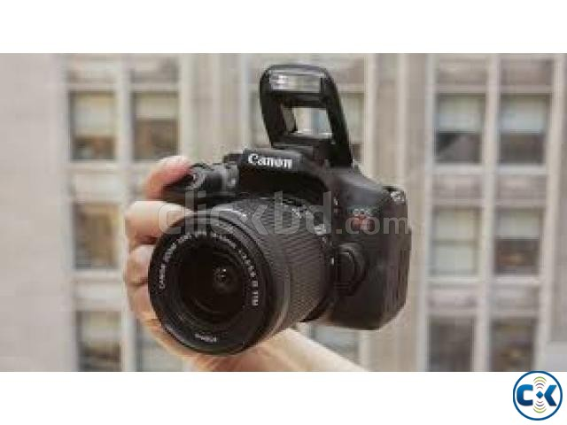 Canon EOS 750D 24.2MP Digital SLR Camera Black with 18-55 | ClickBD large image 2