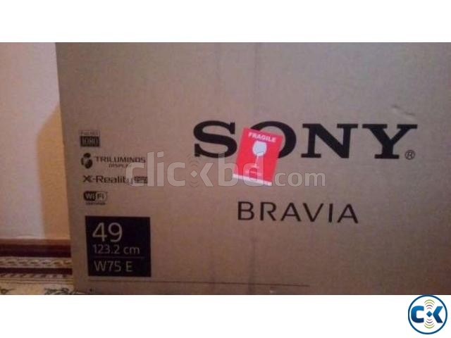 Sony bravia w750e 49 Slim Smart 2017 Fixed price | ClickBD