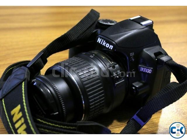 Nikon D3100 DSLR Camera with AF-S 18-55mm VR II Lens | ClickBD large image 0