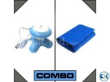 Combo of Mimo Mini Body Massager and Slimming Belt