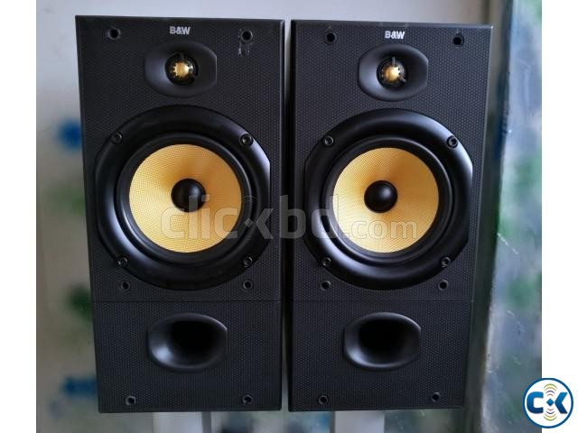 B W DM602 Bookshelf Speakers | ClickBD large image 0