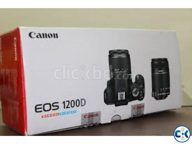 Canon EOS 1200D 18-55 mm Lens Telephoto Zoom DSLR Camera | ClickBD large image 1