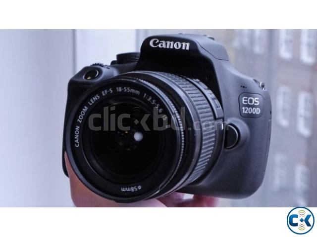 Canon EOS 1200D 18-55 mm Lens Telephoto Zoom DSLR Camera | ClickBD large image 2