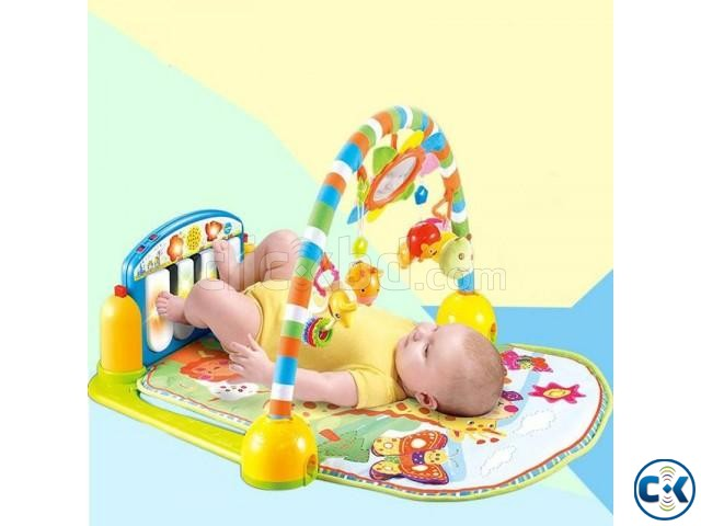 Fisher Price Music Playmat Piano Kick And Play - Multicolour | ClickBD large image 0