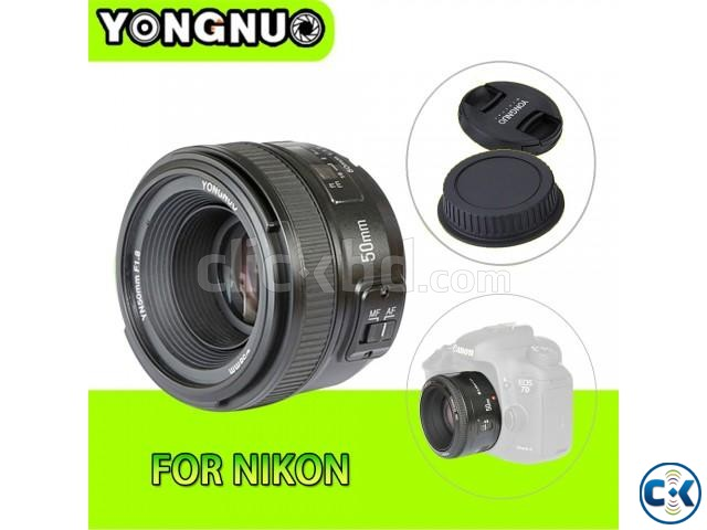 Nikon 18 - 55 mm and YONGNUO-YN50mm Lens | ClickBD large image 0