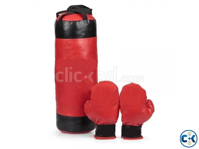 Kid Boxing Bag Full Set Small  | ClickBD large image 0
