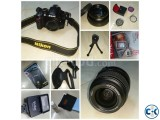 Nikon D3200 with kits gifts