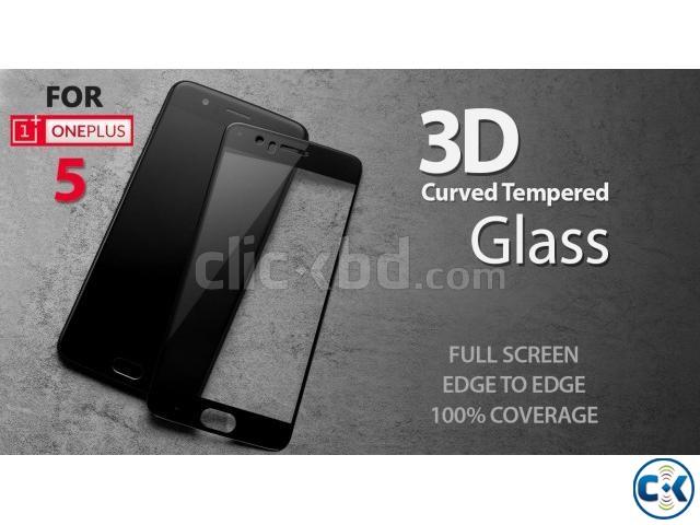 ONEPLUS 5 Premium 3D Curved Tempered Glass Full Gorilla