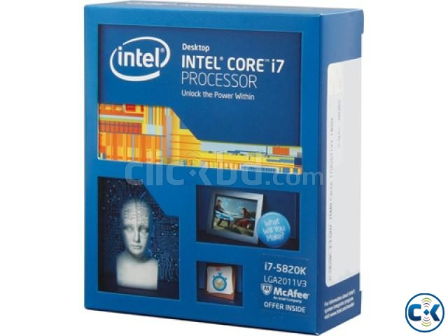 Intel Core i7-5820K Processor 15M Cache 3.60 GHz SOLD  | ClickBD large image 0