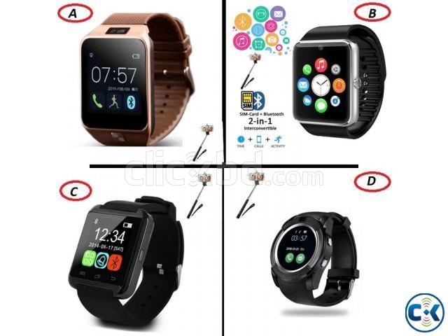 Smart Watch Popular Collection 950 TK Selfi Stick Free  | ClickBD large image 0
