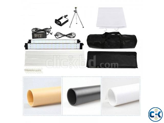 LED Shooting Tent for Products Photography | ClickBD large image 0