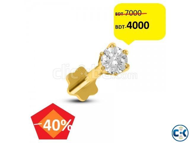 Diamond nose pin 40 off | ClickBD large image 0