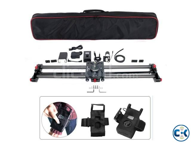 Cisdo 100 cm Motorized with time-lapse photography Slider | ClickBD large image 0