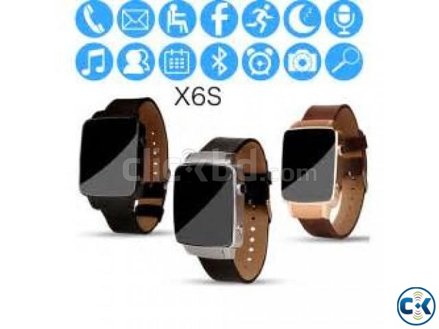 Smart Watch X6s Sim support | ClickBD large image 2