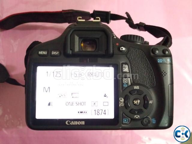 DSLR Canon 550D with 18-135mm lens with waterproof bag | ClickBD large image 3