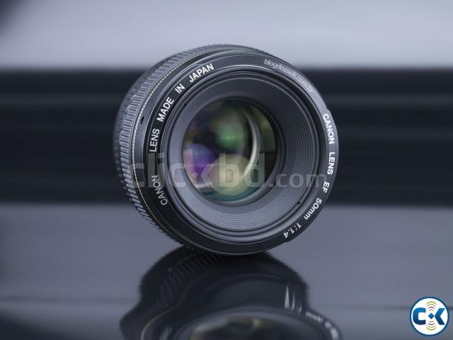 Canon EF 50mm f 1.4 USM Prime Lens | ClickBD large image 0