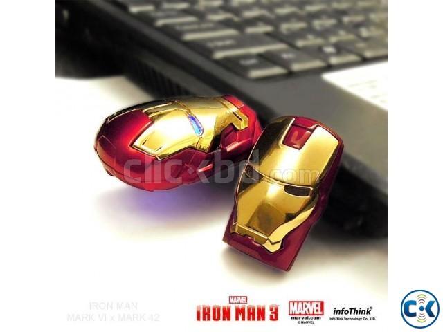 Iron Man LED Pen Drive USB Flash Drive 16GB   ClickBD large image 0