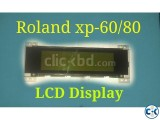 Roland xp-60 80 LCD