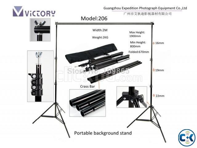 Victory Studio Background Stand Set | ClickBD large image 0