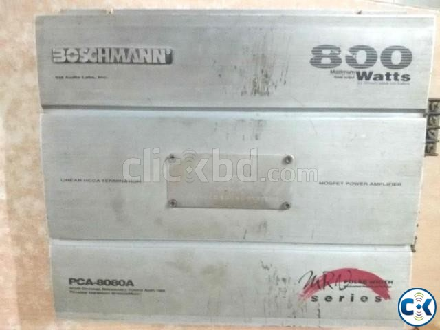 BOSCHMANN AMPLIFIER 800 WATT | ClickBD large image 0