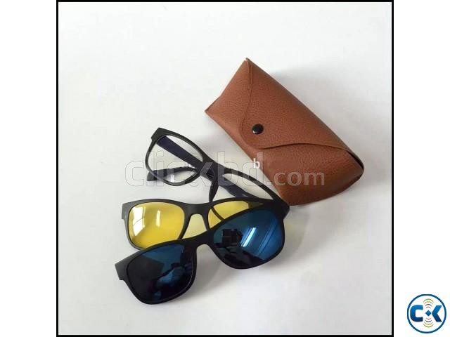 Stylish 3 in 1 Quick-Change Magnet Lens-  | ClickBD large image 1
