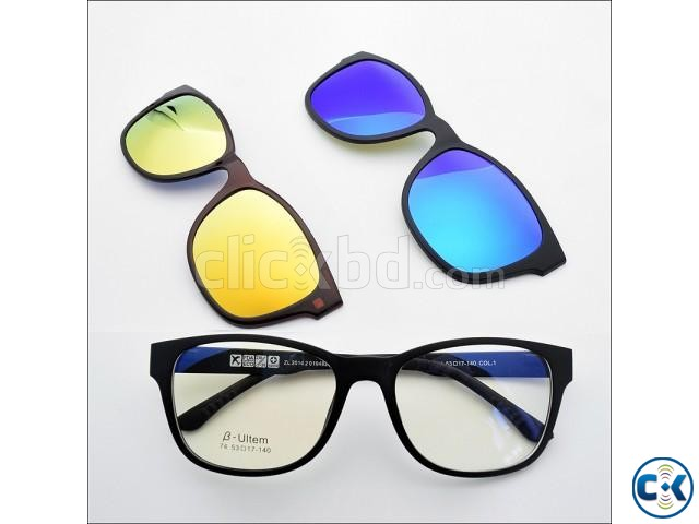 Stylish 3 in 1 Quick-Change Magnet Lens-  | ClickBD large image 3