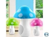 Cute USB Mushroom LED Light Speaker -1pc
