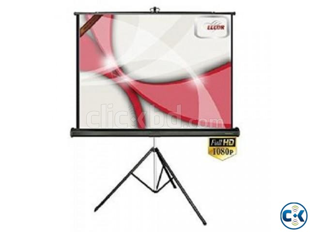 60 x 60 Tripod Projection Screen | ClickBD large image 0