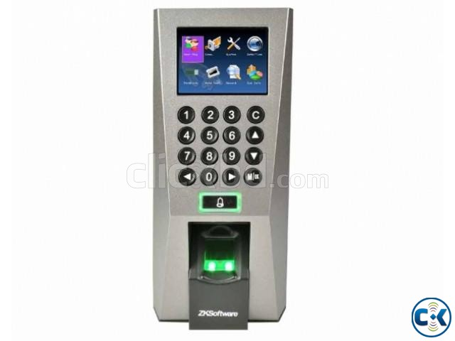 Fingerprint Time Attendance With Access Control- Zkteco F18 | ClickBD large image 0
