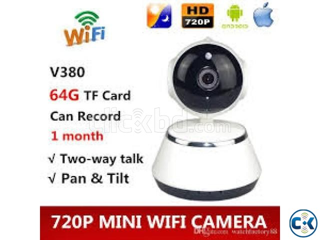 V380 Wifi IP Security Camera | ClickBD large image 2