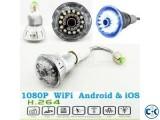 WIFI LED light bulb ip Camera intact Box