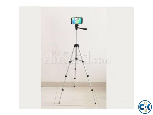 Tripod TF-3110 Portable Tripod Camera Stand and Mobile Stand | ClickBD large image 0