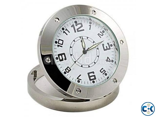 Spy Video Camera Table clock | ClickBD large image 0