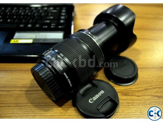Canon EF-S 18-135mm f 3.5-5.6 IS STM Zoom Lens | ClickBD large image 0