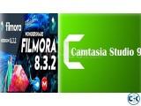Camtacia 9 full Filmora 8.3.2 full