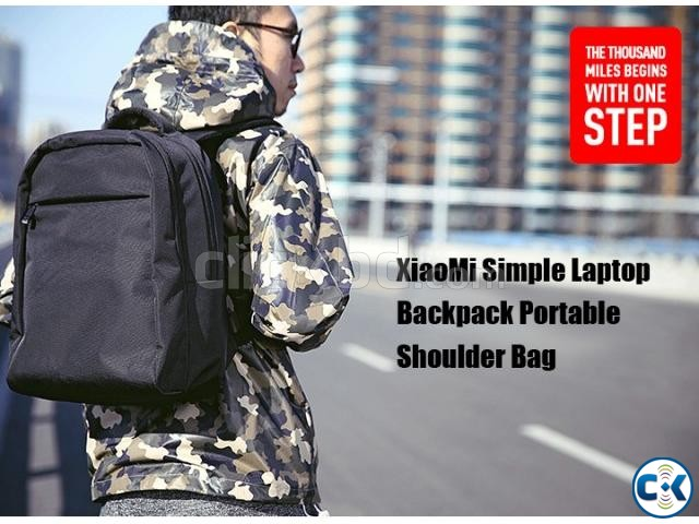 Xiaomi Laptop Backpack Bag | ClickBD large image 2