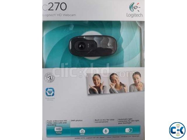 logitech Web Cam C270 | ClickBD large image 1