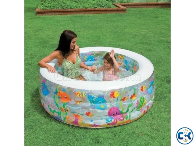 INTEX KIDS AQUARIUM ROUND POOL | ClickBD large image 0