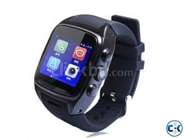 x01 Smart watch android Waterproof | ClickBD large image 1